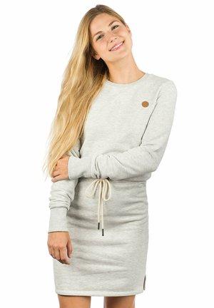 Shift dress - light heather grey
