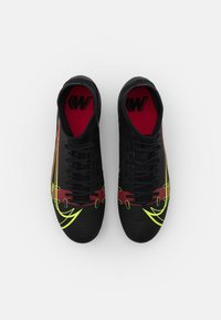 Nike Performance - MERCURIAL 8 ACADEMY SG-PRO AC - Screw-in stud football boots - black/cyber/off noir - 3