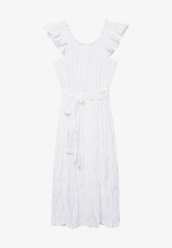 Vapaa-ajan mekko - blanco