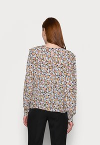 PIECES Tall - PCINIS TOP - Long sleeved top - black/blue - 2