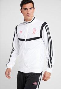adidas Performance - JUVENTUS TURIN SUIT - Club wear - white/black - 0