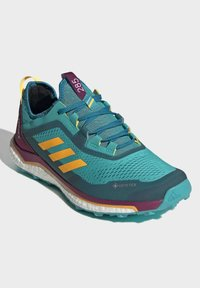 adidas Performance - TERREX AGRAVIC GORE-TEX BOOST TRAIL RUNNING - Løbesko trail - turquoise - 3