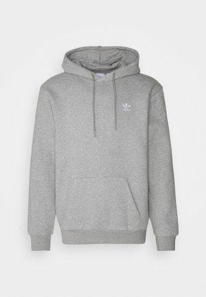ESSENTIAL ORIGINALS ADICOLOR HOODIE UNISEX - Bluza z kapturem - medium grey heather