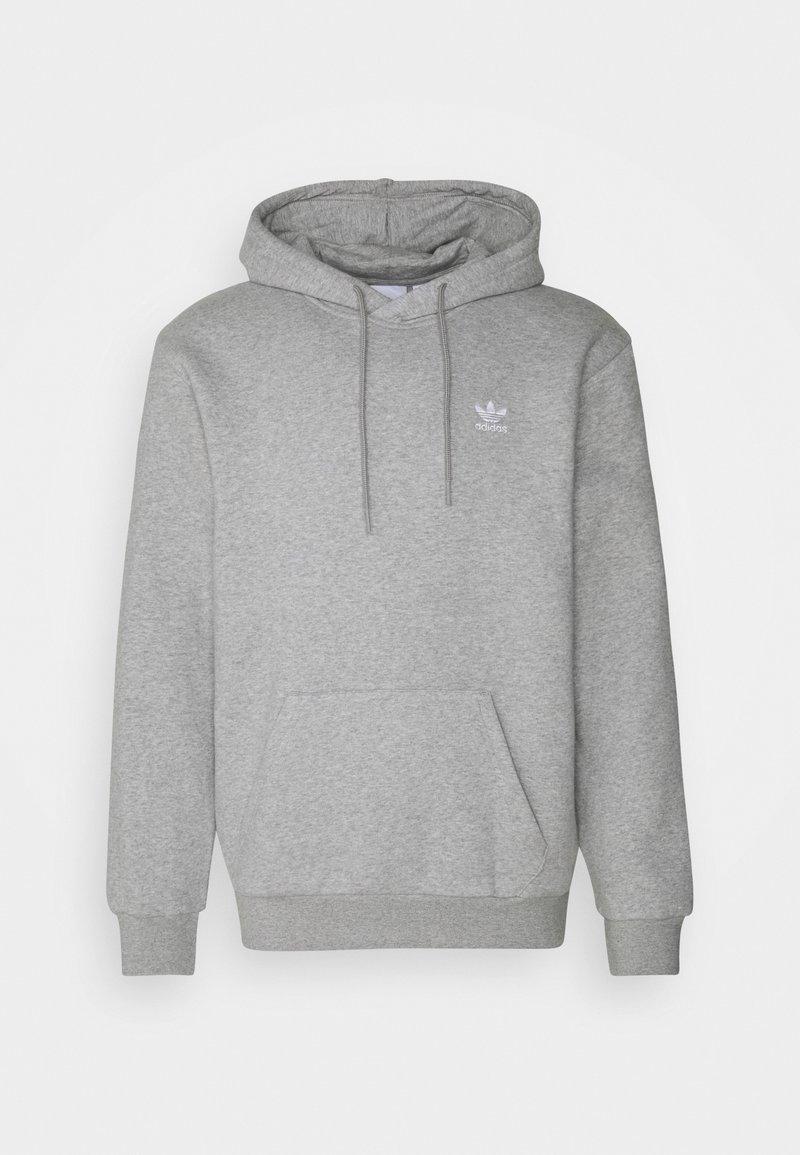 adidas Originals - ESSENTIAL ORIGINALS ADICOLOR HOODIE UNISEX - Hoodie - medium grey heather