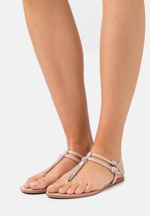 ONLMARGIT  - T-bar sandals - light pink