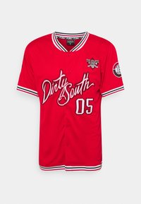 FUBU - ATHLETICS DIRTY SOUTH BASEBALL  - Print T-shirt - red - 0