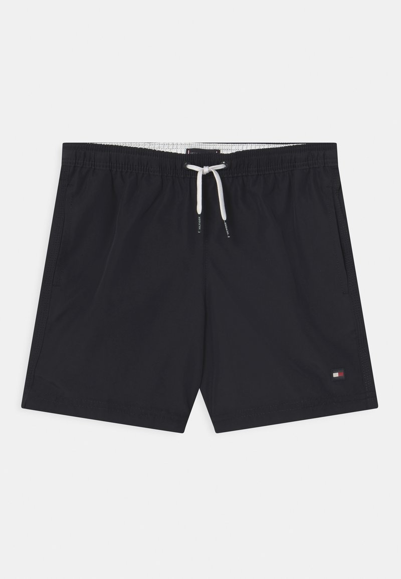 Tommy Hilfiger - MEDIUM DRAWSTRING - Swimming shorts - blue
