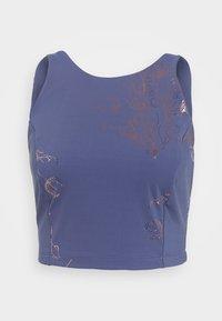 Sweaty Betty - WORKOUT VEST - Top - crown blue/bronze - 3
