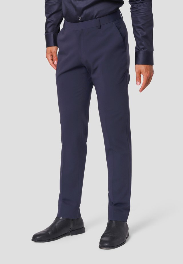 Suit trousers - ultra dark navy