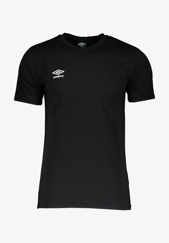Basic T-shirt - schwarzschwarz