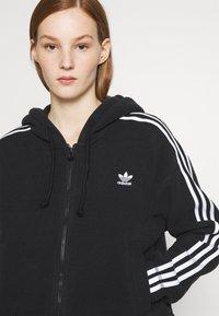 adidas Originals - Fleece jacket - black - 3