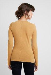 American Vintage - GAMIPY - Long sleeved top - miel vintage - 2