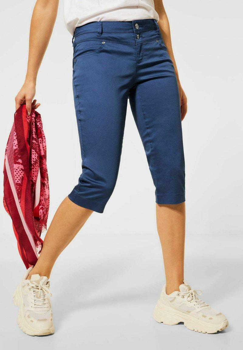 Street One - CASUAL FIT  - Shorts - blau