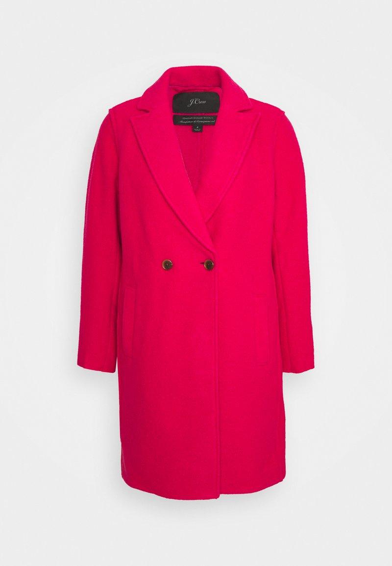 J.CREW - DAPHNE TOPCOAT - Klasický kabát - bright rose