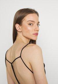 Gina Tricot - MINKY MINI DRESS - Sukienka letnia - black - 3