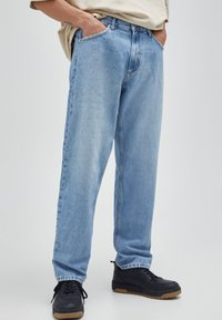 PULL&BEAR - Relaxed fit jeans - blue-grey - 0