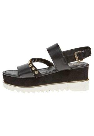 SANDALE COMPENSEE LEDELL - Platform sandals - noir