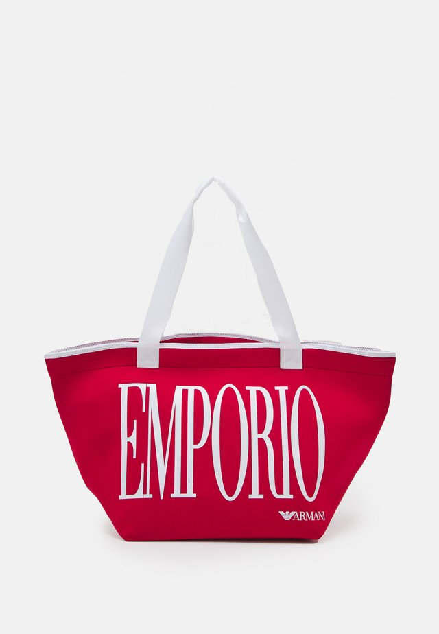 SHOPPING BAG BEACH - Strandaccessoire - rosso red