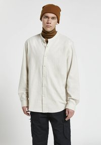 PULL&BEAR - Shirt - mottled light grey - 0