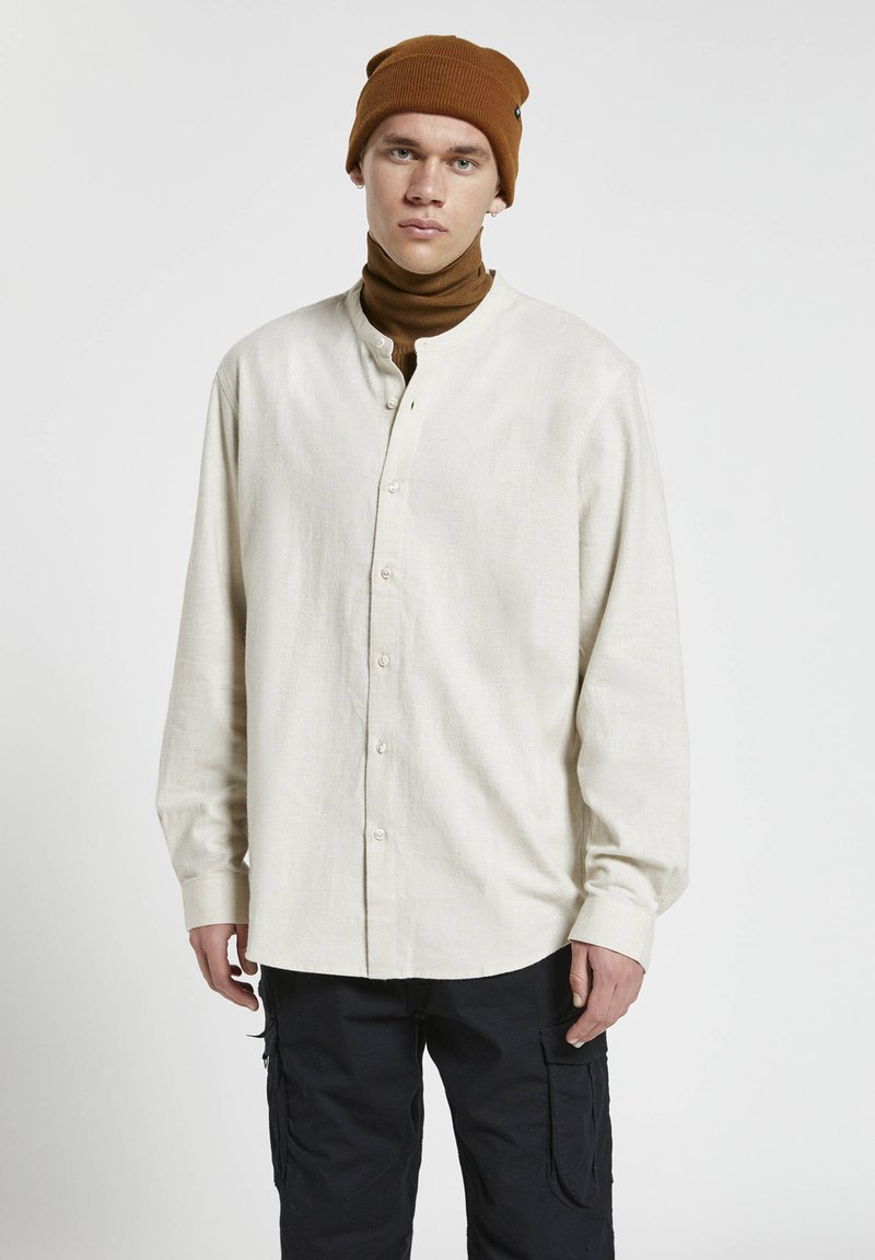 PULL&BEAR - Shirt - mottled light grey
