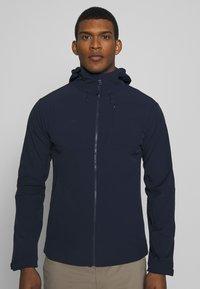 Mammut - Soft shell jacket - marine - 0