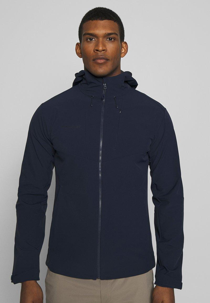 Mammut - Soft shell jacket - marine