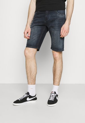 BRASS - Shorts vaqueros - blue black