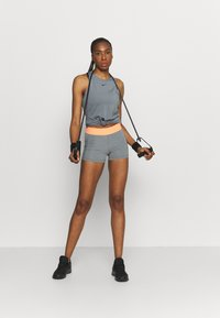 Nike Performance - TANK ALL OVER  - Camiseta de deporte - smoke grey/black - 1