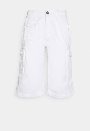 JACK SHORT - Pantaloni cargo - white