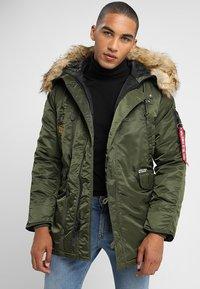 Alpha Industries - AIRBORNE - Winter coat - dark green - 0