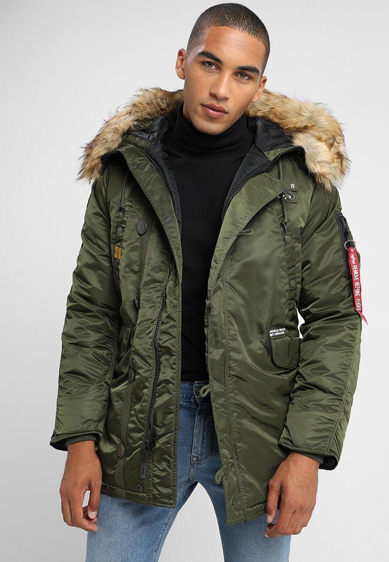 Alpha Industries - AIRBORNE - Winter coat - dark green