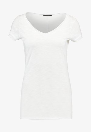 VNECK TEE - T-shirt basic - white