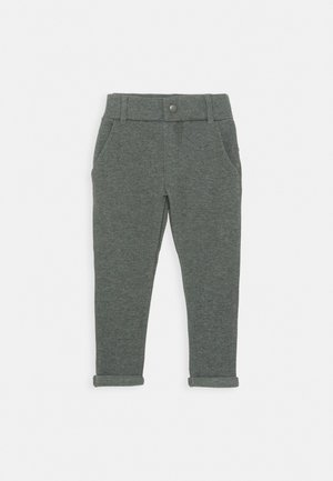 NKMOLSON PANT - Suit trousers - dark grey melange