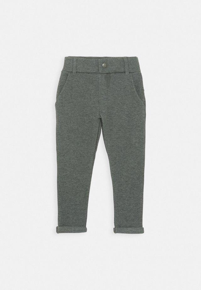 NKMOLSON PANT - Suit trousers - dark grey melange
