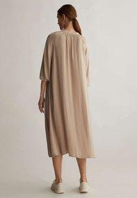 OYSHO - Shirt dress - beige - 2