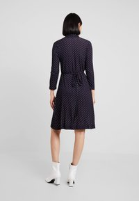 French Connection - POLKA DOT DRESS - Jersey dress - dark blue/white - 2