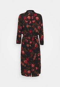ONLY Tall - ONLNOVA LONG SHIRT DRESS - Košilové šaty - black - 5