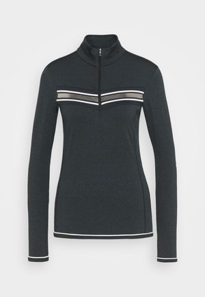 WOMAN  - Fleece jumper - nero melange