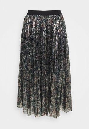 JILIO - A-snit nederdel/ A-formede nederdele - black