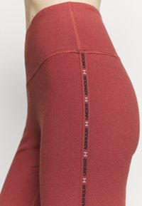 Under Armour - FAVORITE LEGGING HI RISE - Leggings - cinna red - 4