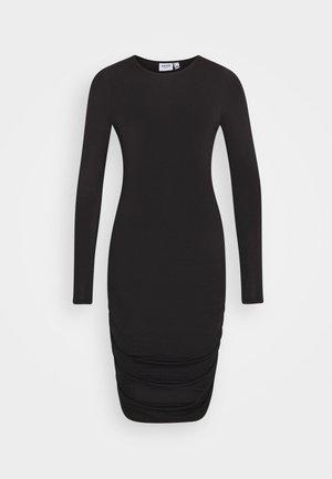 VMNEXT NECK SHORT DRESS  - Denní šaty - black