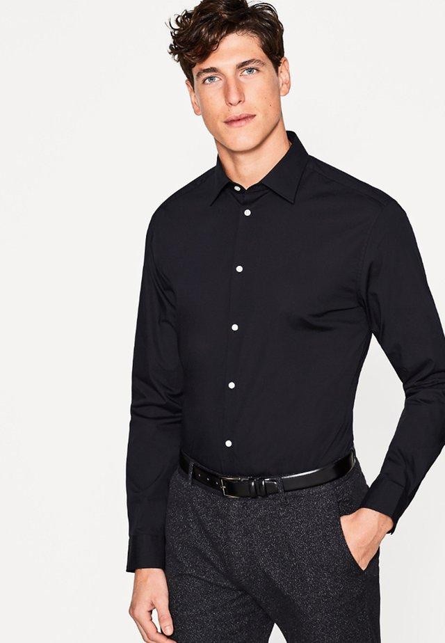 SOLID - Koszula biznesowa - black