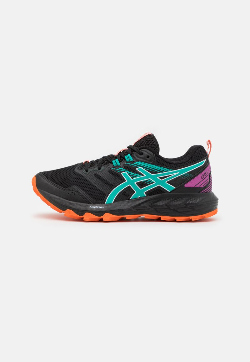ASICS - GEL SONOMA 6 - Zapatillas de trail running - black/baltic jewel