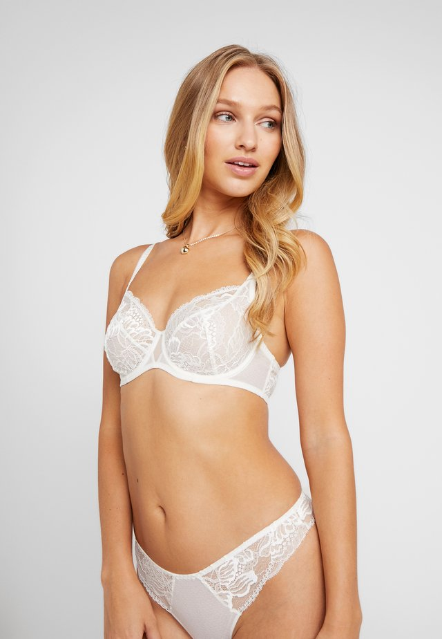 PROMESSE VOLLSCHALE EXTRA HALT - Underwired bra - naturel