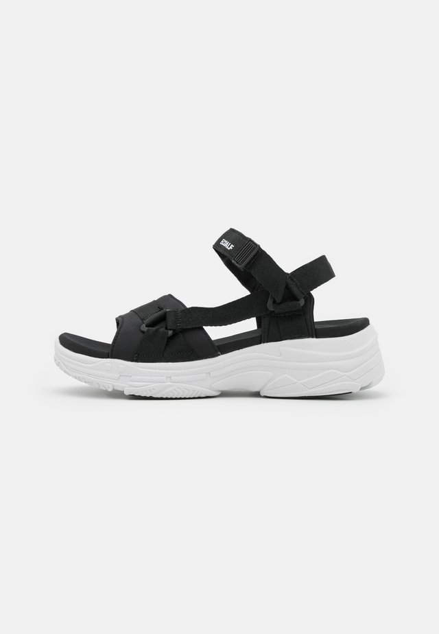SOFIA - Platform sandals - black