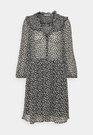 LAPASTILLETTE  - Vestito estivo - noir/blanc motif