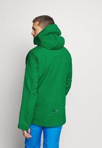 State of Elevenate - MENS BACKSIDE JACKET - Ski jas - green - 2