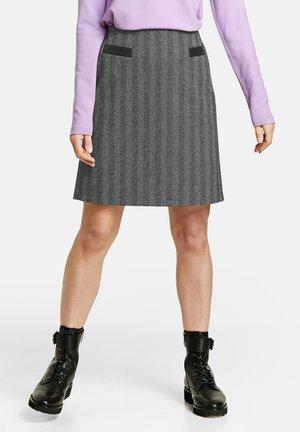 Pencil skirt - grau gemustert