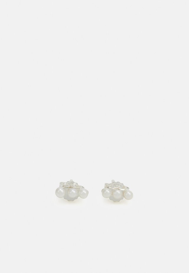 IRIS EARPOST SMALL - Orecchini - silver