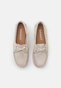 Timberland - CLASSIC - Boat shoes - white - 5
